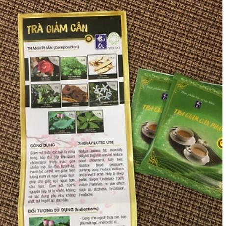 Thực phẩm chức năng bảo vệ sức khỏe Trà hỗ trợ Giảm Cân Phạm Gia Gold 3+ 3