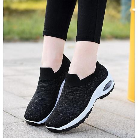 Giày thể thao sneaker vải chun tuyệt đẹp cho nữ - SB101 5