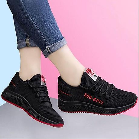 Giầy thể thao nữ, giày sneaker nữ buộc dây V202 5