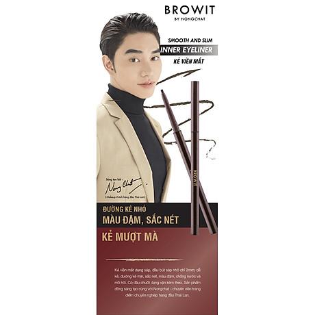Kẻ viền mắt trong Browit Smooth and Slim Inner Eyeliner 0.1g 3