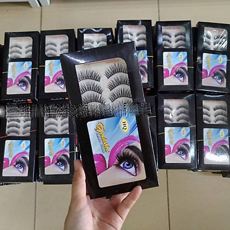 Lông mi giả Eyelashes Fashion Color 10 cặp 8