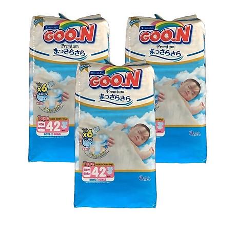 Combo 3 bịch Tã dán Goo.n Premium NB42 miếng (newborn-5kg) 1