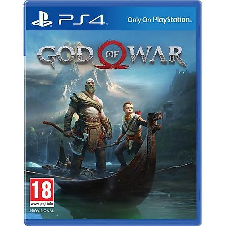 Đĩa game Ps4 God Of War 4 Hệ Asia - Hàng Chính hãng 1