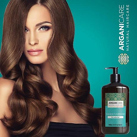 Kem Dưỡng Tạo Kiểu Tóc Xoăn SHEA BUTTER LEAVE-IN HAIR CONDITIONER FOR CURLY HAIR 400ml 4