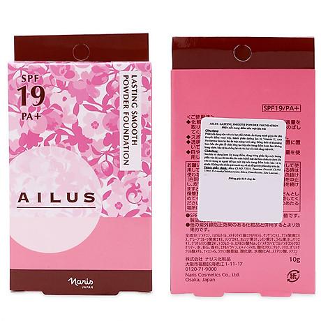 Phấn nền mỏng mịn lâu trôi Ailus Lasting Smooth Powder Nhật Bản 10g ( 530 Tự nhiên) + Móc khóa 6