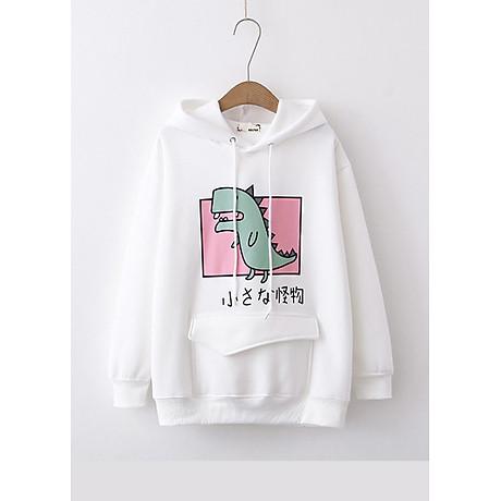 Áo hoodie nữ Khủng Long siêu dễ thương - PP06A 1