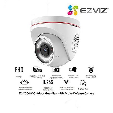 Camera IP - Camera Wifi bán cầu EZVIZ C4W 1080P - Đàm thoại 2 chiều - Hàng Nhập Khẩu 4