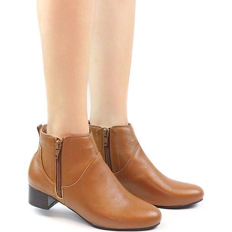Giày Boot Nữ Da Thật 3cm Pixie P697 3