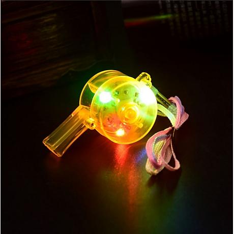 Còi nhựa trang bị đèn LED nháy 3 chế độ độc đáo - Trang bị thể thao, dã ngoại cho bạn - Giao màu ngẫu nhiên 3