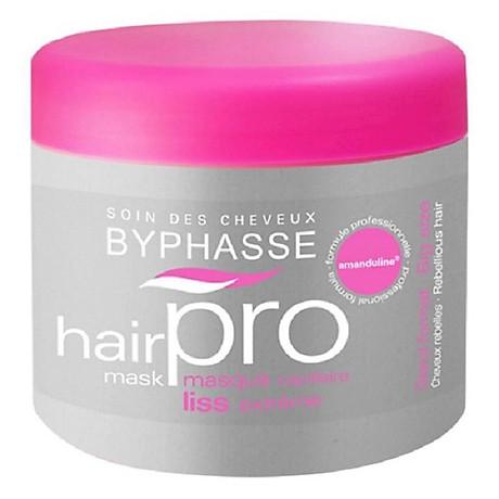 Ủ Tóc Hair Pro Byphasse Dành Cho Tóc Xơ Rối (500ml) màu hồng 1