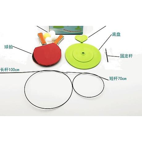 Bộ vợt bóng bàn tập phản xạ lắc lư cho bé - Tặng 1 lọ tinh dầu Quế 3