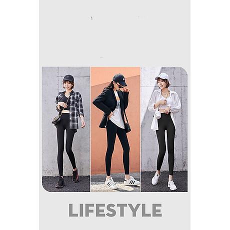 Quần thể thao nữ quần legging co giãn nhanh khô, túi hai bên phối lưới, quần yoga chạy bộ mã MTCK9016 3