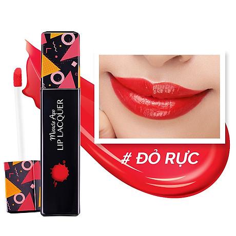 Son kem bóng Miracle Apo Lip Lacquer Gloss 3ml 2