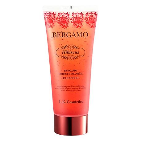 Sữa Rửa Mặt Bergamo Hibiscus Foaming Cleanser 150ml 1