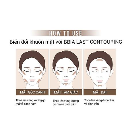 Kem tạo khối Bbia Last Contouring 5g (2 màu) 7