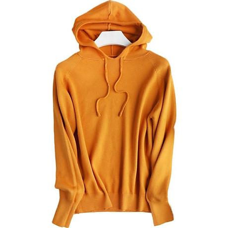 Áo hoodie len nữ LAHstore, chất len mêm mịn ấm áp, thời trang trẻ, phong cách Hàn Quốc 1