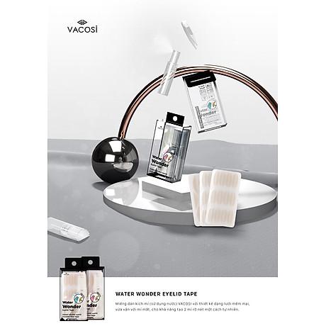 Miếng Dán Kích Mí (sử dụng nước) - Vacosi Water Wonder Eyelid Tape VM23 2