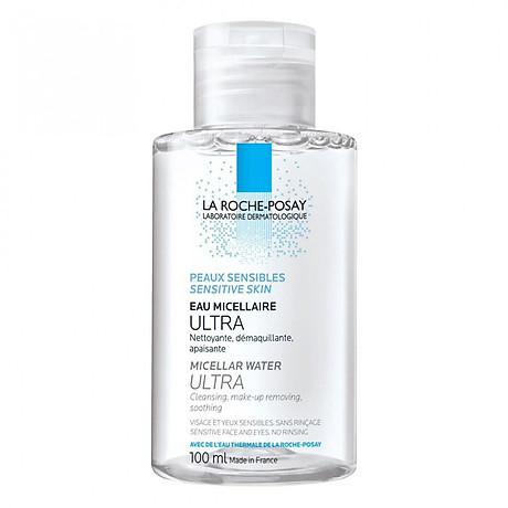 Nước Tẩy Trang Làm Sạch Sâu Cho Da Nhạy Cảm La Roche-Posay Micellar Water Ultra Sensitive Skin 100ml 1