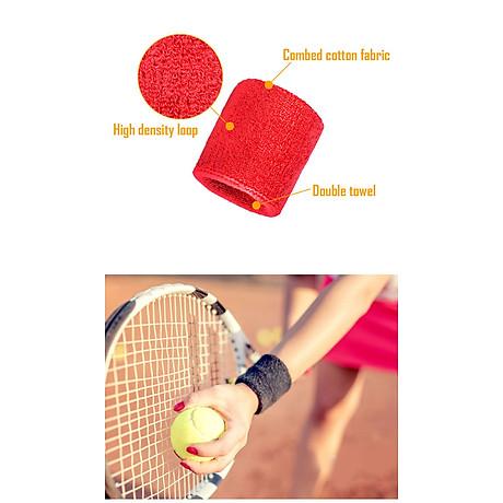 Băng cổ tay thấm mồ hôi thể thao nam nữ Boer 0230 Sports Bandage Aol (1 chiếc) - Băng thấm mồ hôi, cuốn cổ tay thể thao - Chạy bộ, đạp xe, bóng đá, bóng bàn, bóng chuyền, hoạt động ngoài trời - Hàng chính hãng 5