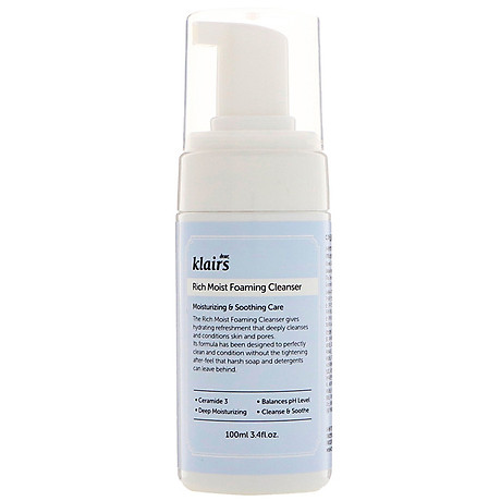 Sữa rửa mặt Klairs Rich Moist Foaming Cleanser 1