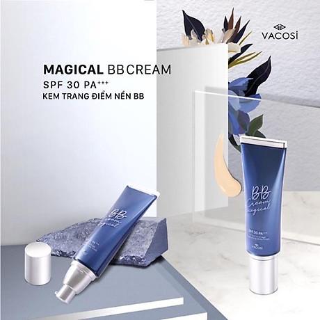 KEM NỀN TRANG ĐIỂM VACOSI NATURAL MAGICAL BB CREAM 2