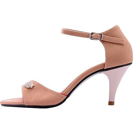 Giày Sandal Nữ Cao Gót Huy Hoàng HT7060 - Nude 3