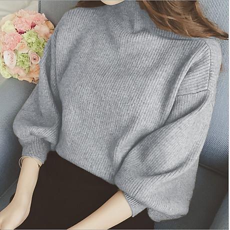 Áo len gân nữ ấm áp Haint Boutique Al40 1