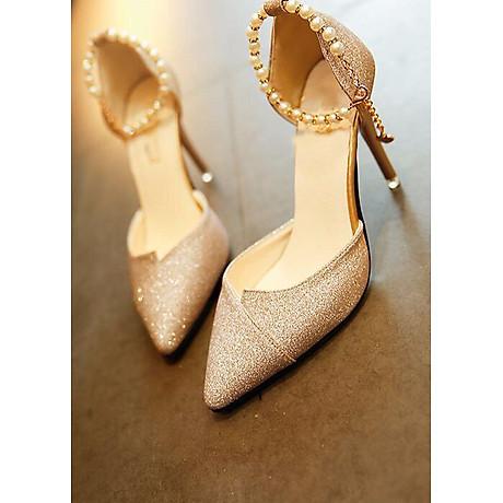 Giày cao gót bít mũi AT025 1