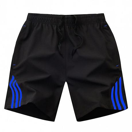 Combo 2 Quần short thể thao nam 3 sọc, thích hợp các hoạt động thể thao dã ngoại 3