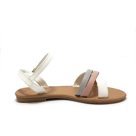 Sandal ZAHAN bệt, quai chéo, SDZA03 3