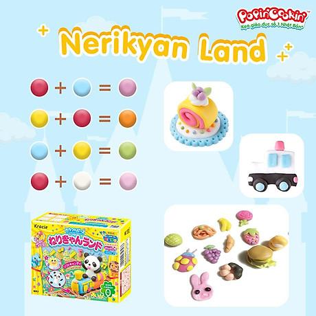 Combo 2 hộp kẹo popin cookin nerikyan land bộ làm kẹo sáng tạo thế giới diệu kỳ 4