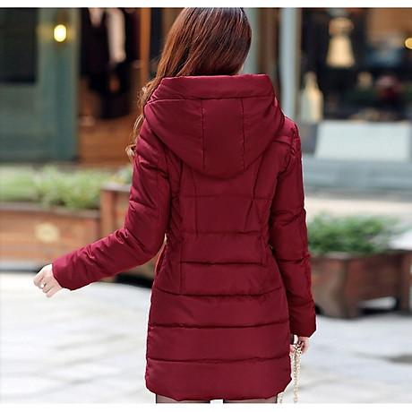 Áo khoác phao nữ cực ấm NT4283N1 2