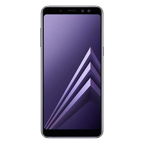 Samsung Galaxy A8 2018 (SM-A530F/DS) 4GB / 32GB 5.6-inches LTE Dual SIM Factory Unlocked - International Stock No Warranty (Orchid Gray)