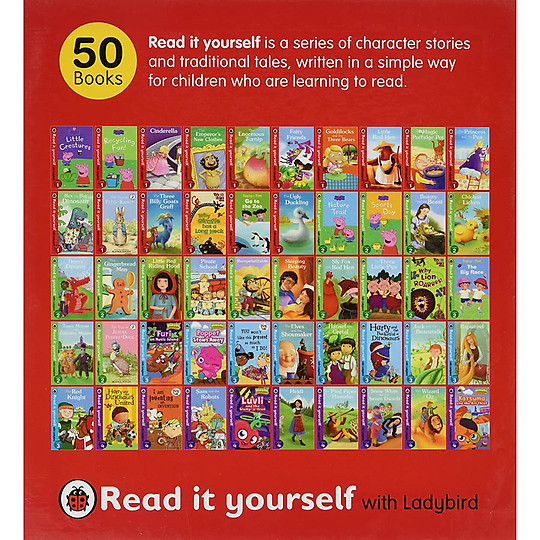 Free Download Set of 50 books – Levels 1-4 Read It Yourself