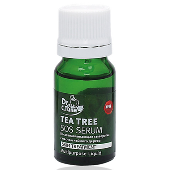 Image result for Serum Trị Mụn Và Dưỡng Da Tea Tree Series Sos Serum Farmasi tiki
