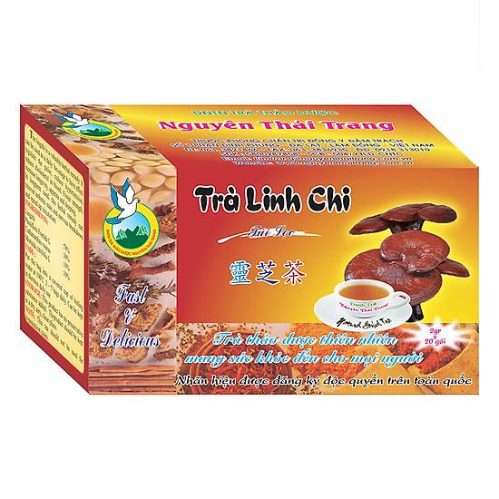 Trà Linh Chi Hạ Huyết Áp, Cholesterol Nguyên Thái Trang (2g x 20 Gói)
