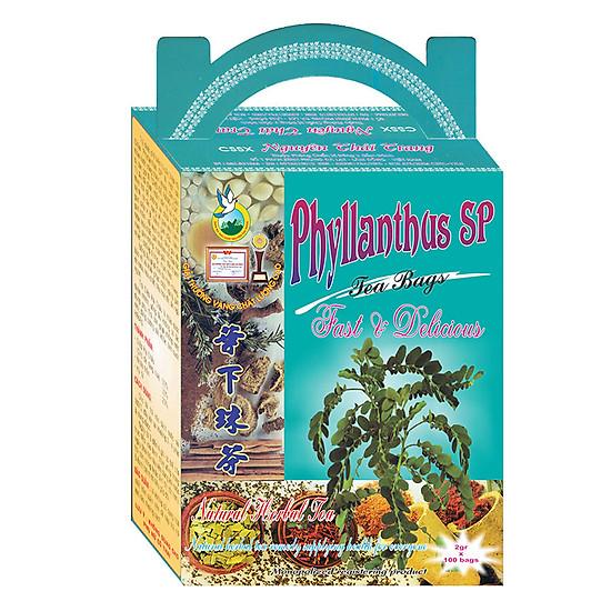 Trà Diệp Hạ Châu Trị Viêm Gan, Gan Nhiễm Mỡ Nguyên Thái Trang (2g x 100 Gói)