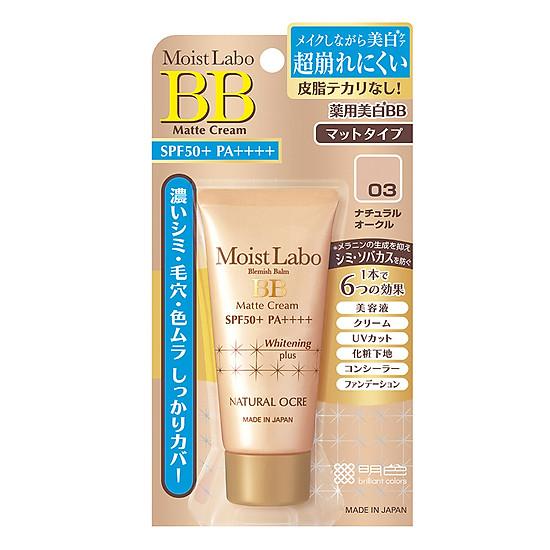 Kem Trang Điểm Meishoku Moist-Labo BB Matte Cream (33g)-0
