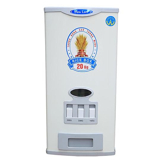 Thùng Đựng Gạo Thông Minh Hoa Lan HL - 20 - Ghi Sáng (20kg)