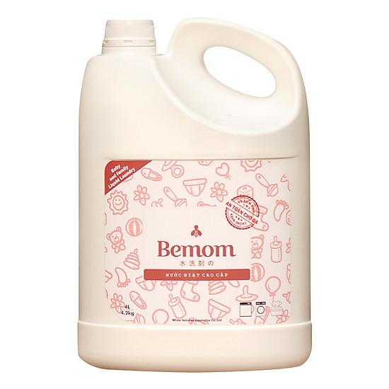 Nước Giặt Bemom Cao Cấp Và An Toàn (4 Lít)