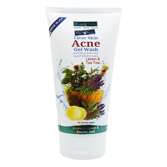 Gel rửa mặt dành cho da mụn Clear Skin Acne Gel Wash Fresh& Fruity 150ml