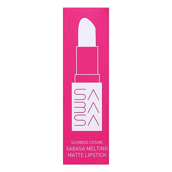 Son Môi Sunwoo Cosme Sabasa Melting Matte Lipstick (3.7g)-2