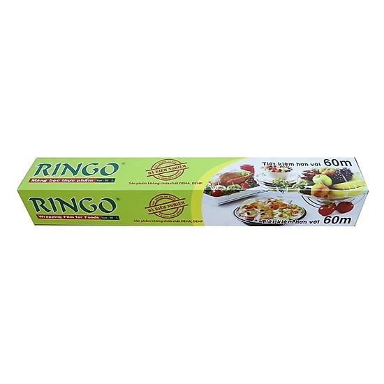 Hình đại diện sản phẩm Màng Bọc Thực Phẩm PVC Ringo R60 (30cm x 60m)
