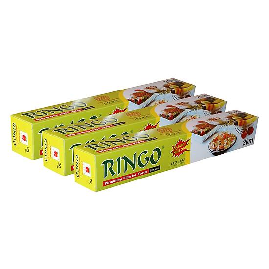 Bộ 3 Màng Bọc Thực Phẩm PVC Ringo CF020 (30cm x 20m)