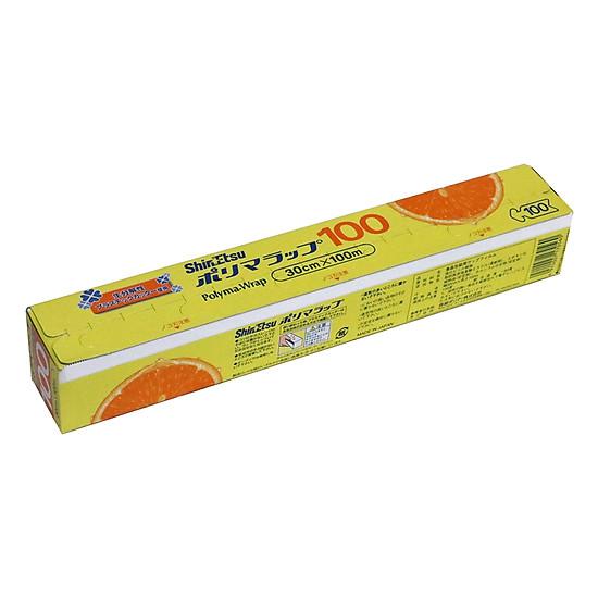 Hình đại diện sản phẩm Màng Bọc Thực Phẩm PVC Shinetsu SE 100 (300mm x 100m)
