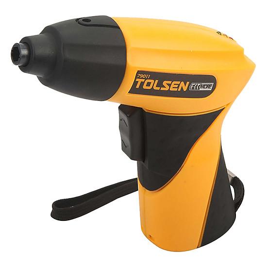 Kết quả hình ảnh cho TOLSEN 79011 Bộ Máy Khoan Nhỏ Không Dây