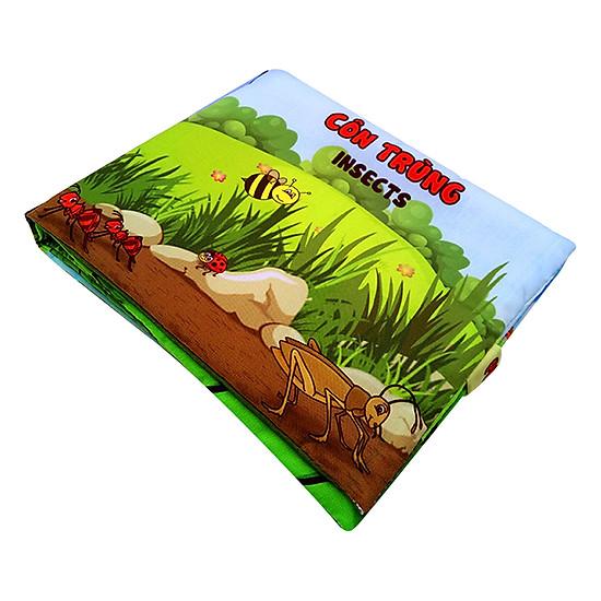 Bộ 4 Sách Vải Pipovietnam (Giao Thông - Thời Tiết - Côn Trùng - Động Vật Ăn Cỏ)