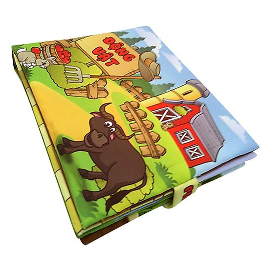 Sách Vải Trẻ Em Pipovietnam Động Vật