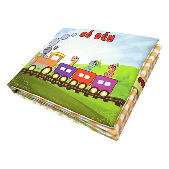 Bộ 3 Sách Vải Pipovietnam (Hoa Quả - Chữ Cái Tiếng Việt - Số Đếm)