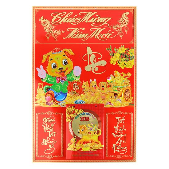 Combo Bìa Ván Ép Gắn Bloc Lịch Lộc Vàng Cát Tường (Giao Màu Ngẫu Nhiên)    Tiki.Vn